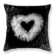 Dandelion Love Throw Pillow
