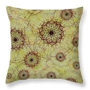 Dandelion Nosegay Throw Pillow
