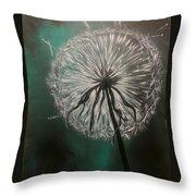 Dandelion Phatansie Throw Pillow