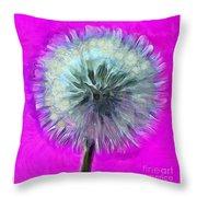 Dandelion Spirit Throw Pillow