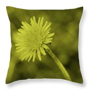 Dandelion Tint Throw Pillow