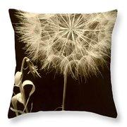 Dandelion Twenty Eight Throw Pillow