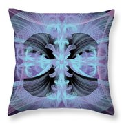 Dandilion Puffs Throw Pillow