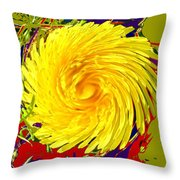 Dandy Three Throw Pillow