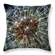 Dandy Universe Throw Pillow