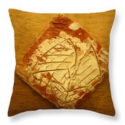 Danger - Tile Throw Pillow
