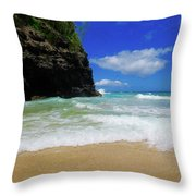 Dangerous Yet Beautiful Kauai Throw Pillow