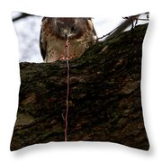 Dangling Dinner Throw Pillow