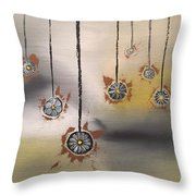 Dangling Participles Throw Pillow