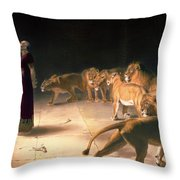 Daniel's Answer To The King Throw Pillow
