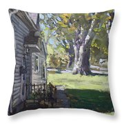Daniel's House In Bloomington Mn Throw Pillow