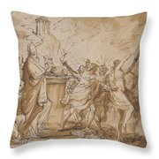 Daniel's Prophecy Of The Seventy Weeks Throw Pillow