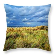 Danish Landscape Throw Pillow