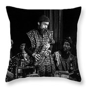 Danny Davis With Sun Ra Arkestra Throw Pillow