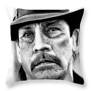 Danny Trejo  Throw Pillow