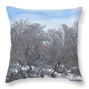 Dans Le Vent / In The Wind Throw Pillow