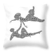 Danse Throw Pillow