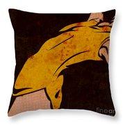 Danse I Throw Pillow by Sandra Hoefer