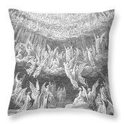 Dante: Paradise Throw Pillow by Granger