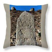 Danzantes Stone Throw Pillow