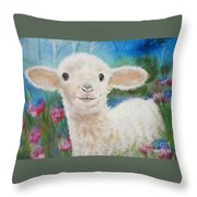 Daphne Star's Ears.   Flying Lamb Productions  Throw Pillow