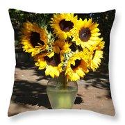 Dappled Sunlight Throw Pillow