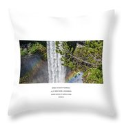Dare To Loove Yourself Throw Pillow
