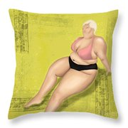 Dare To Wear Throw Pillow