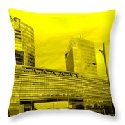 Daring Architecture Throw Pillow