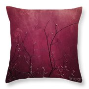 Daring Pink Throw Pillow