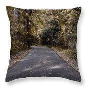 Dark Autumn Throw Pillow