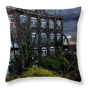 Dark Days Throw Pillow