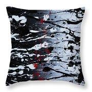 Dark Daze Throw Pillow