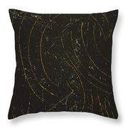 Dark Energy With Lighting Throw Pillow