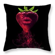 Deep Flavor Throw Pillow