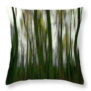 Dark Forest 3 Throw Pillow