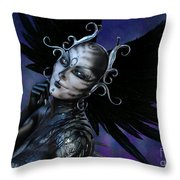 Dark Gaze Throw Pillow