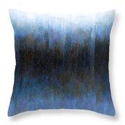 Dark Ice Throw Pillow