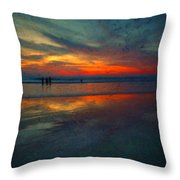 Dark Memories Throw Pillow