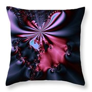 Dark Orchid Throw Pillow