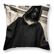 Dark Performer 1 Throw Pillow