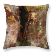 Dark Presence  Throw Pillow