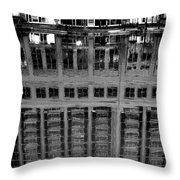 Dark Reflection Throw Pillow