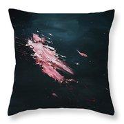 Dark Serie, Iv Throw Pillow by Daniel Hannih