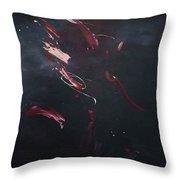Dark Serie, X Throw Pillow