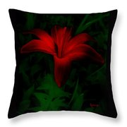 Dark Star Throw Pillow