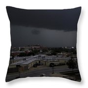 Dark Storm Throw Pillow