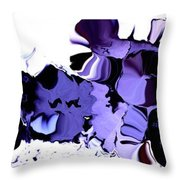 Dark Turbulence Throw Pillow