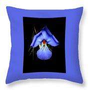 Dark Violet Throw Pillow