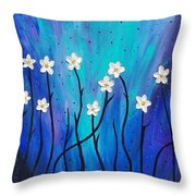 Dark Willow  Throw Pillow
